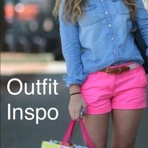 AEO Neon Pink Shorts